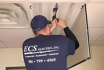 Commercial Electrician Armada MI - ECS Electric Inc. - Chaz_6