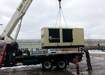 Generator Services Shelby Township MI - Installation & Sales | ECS Electric - Generator_Commercial_and_Crane